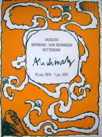 Cartel Alechinsky - Boymans