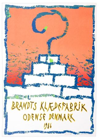 Cartel Alechinsky - Brandts Klædefabrik