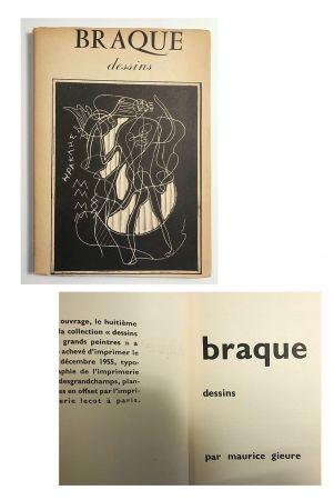 Libro Ilustrado Braque - Braque dessins (1955)