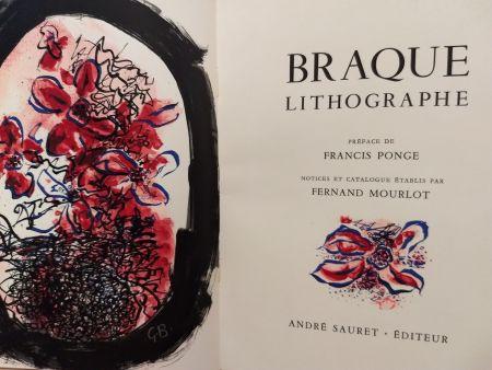 Libro Ilustrado Braque - Braque Lithographie