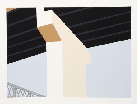 Serigrafía D'arcangelo - Bridge