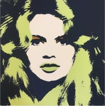 Serigrafía Warhol (After) - Brigitte Bardot