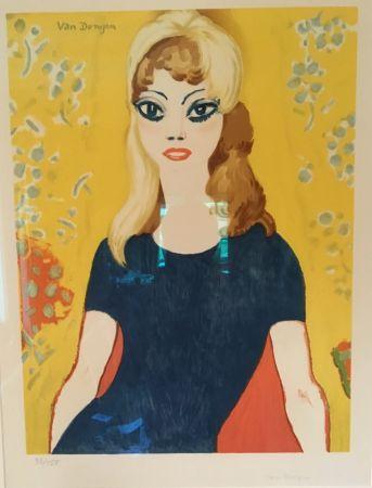 Litografía Van Dongen - Brigitte Bardot