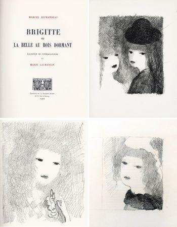 Libro Ilustrado Laurencin - BRIGITTE OU LA BELLE AU BOIS DORMANT (M. Jouhandeau. 1925)