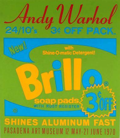 Serigrafía Warhol - Brillo Soap Pads