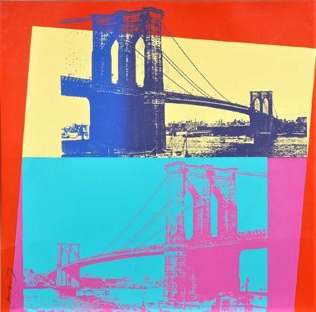 Serigrafía Warhol - Brooklyn Bridge