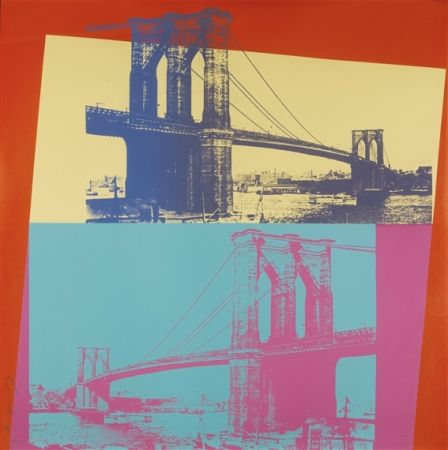 Serigrafía Warhol - Brooklyn Bridge (FS II.290)