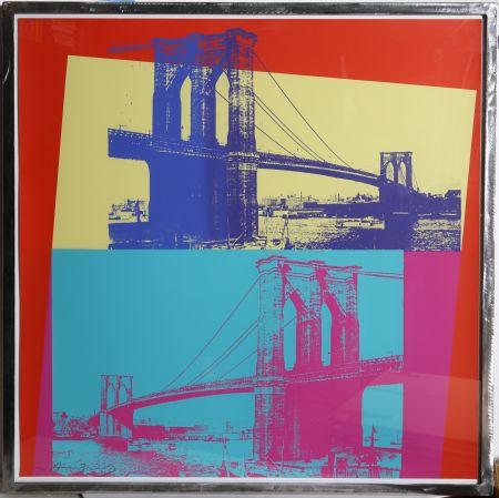Serigrafía Warhol - Brooklyn Bridge (FS II.290)