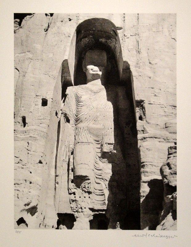 Sin Técnico Scheidegger - Buddha-Monument im Bamiyan-Tal, Afghanistan