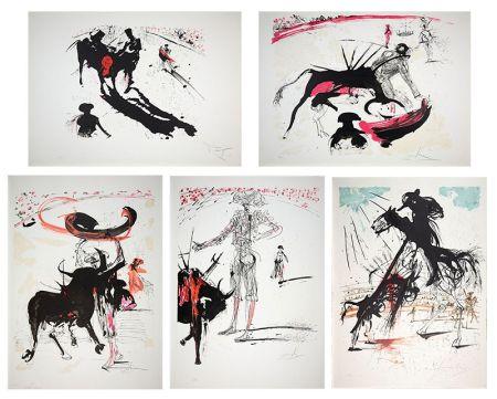 Litografía Dali - Bullfight Suite (Tauromachie)