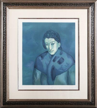 Litografía Picasso - Buste de Femme