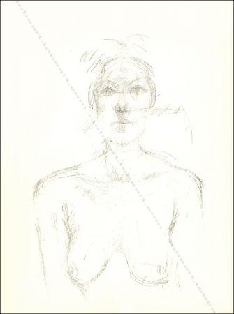 Litografía Giacometti - Buste Ii.