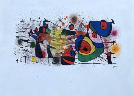 Litografía Miró - Céramique