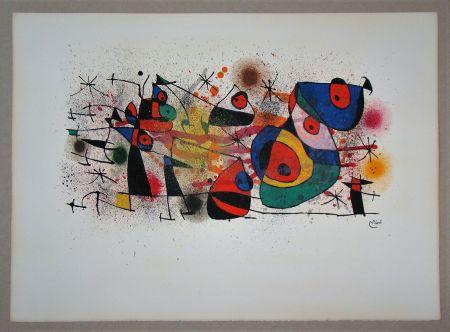 Litografía Miró - Céramiques
