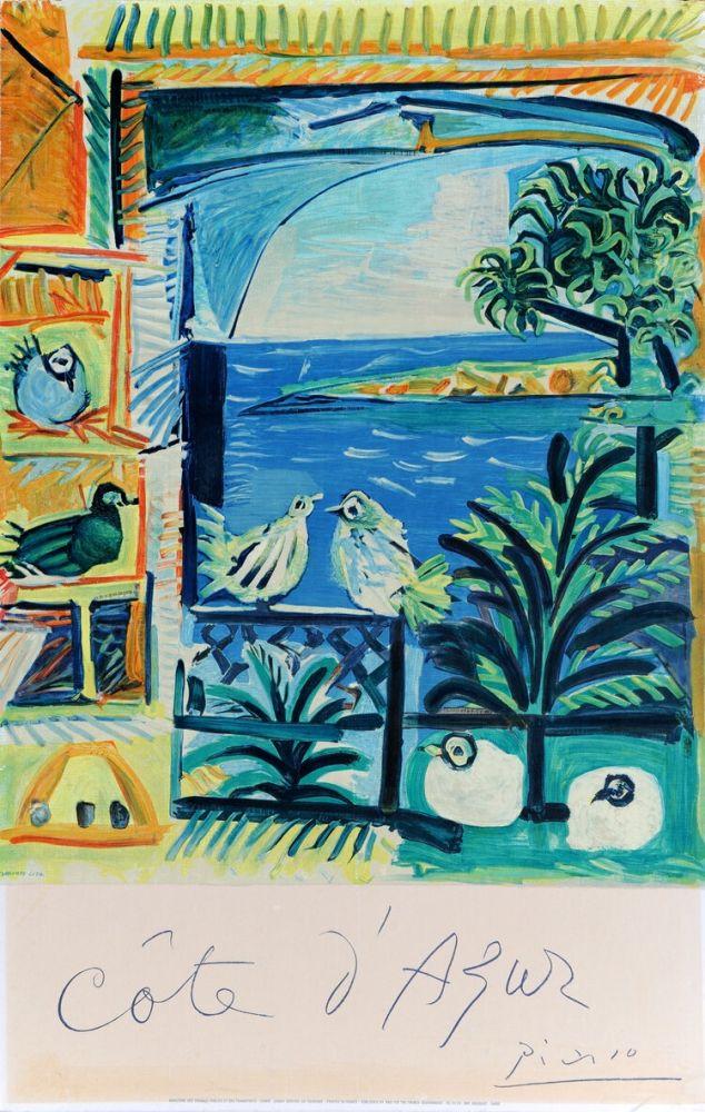 Cartel Picasso - Côte d'Azur