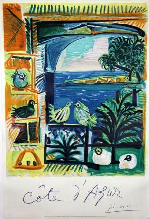 Litografía Picasso -    Côte D'Azur