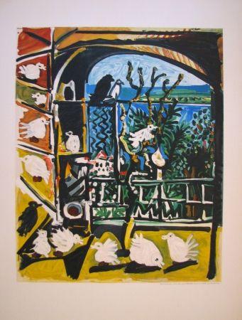 Litografía Picasso - Côte d'Azur (After)