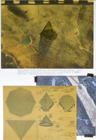 Litografía Oppenheim - Cage Screen Test