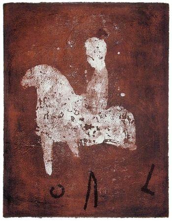 Litografía Gorodine - Cal (2002)