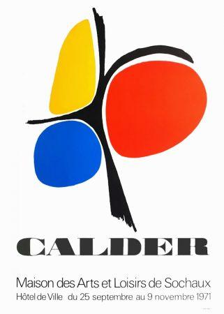 Cartel Calder - CALDER 71 : Exposition Maison des Arts de Sochaux.
