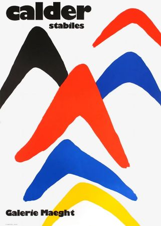 Cartel Calder - CALDER 71 : Exposition