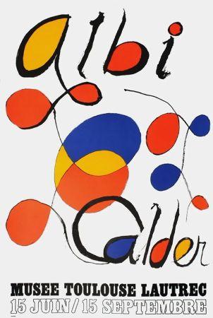 Cartel Calder - CALDER 72 : Exposition à ALBI.
