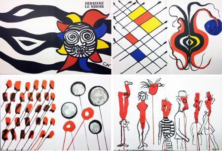 Libro Ilustrado Calder - CALDER OISELEUR DU FER. DERRIÈRE LE MIROIR N° 156 (1966).