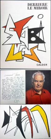 Libro Ilustrado Calder - CALDER. STABILES. Derrière le Miroir n° 141. 8 LITHOGRAPHIES ORIGINALES (1963)