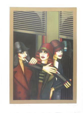Litografía Okshteyn - Call girls