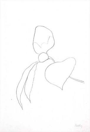 Litografía Kelly - Camellia I (1964-65)