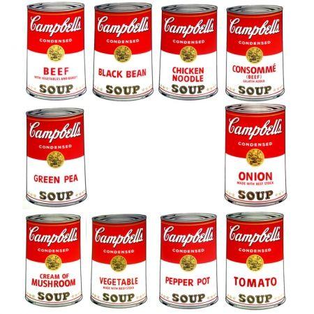 Serigrafía Warhol (After) - Campbell's Soup - Portfolio
