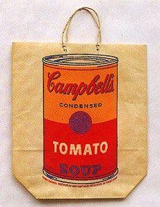 Serigrafía Warhol - Campbell's Soup Cam (Tomato)