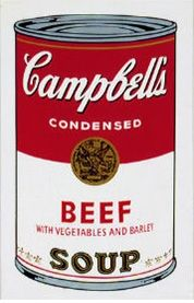 Serigrafía Warhol - Campbell´s Soup Can