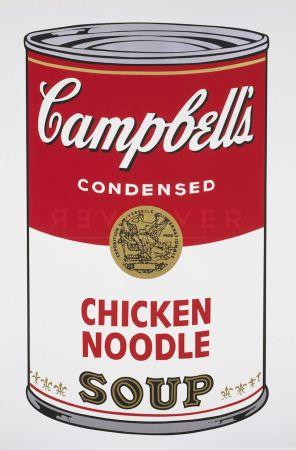 Serigrafía Warhol - Campbell's Soup: Chicken Noodle (FS II.45)