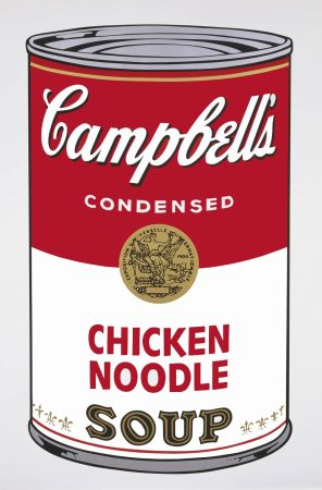 Sin Técnico Warhol - Campbell's Soup I: Chicken Noodle (FS II.45)