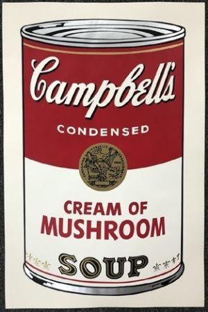 Múltiple Warhol - Campbell's soup I: Cream of Mushroom