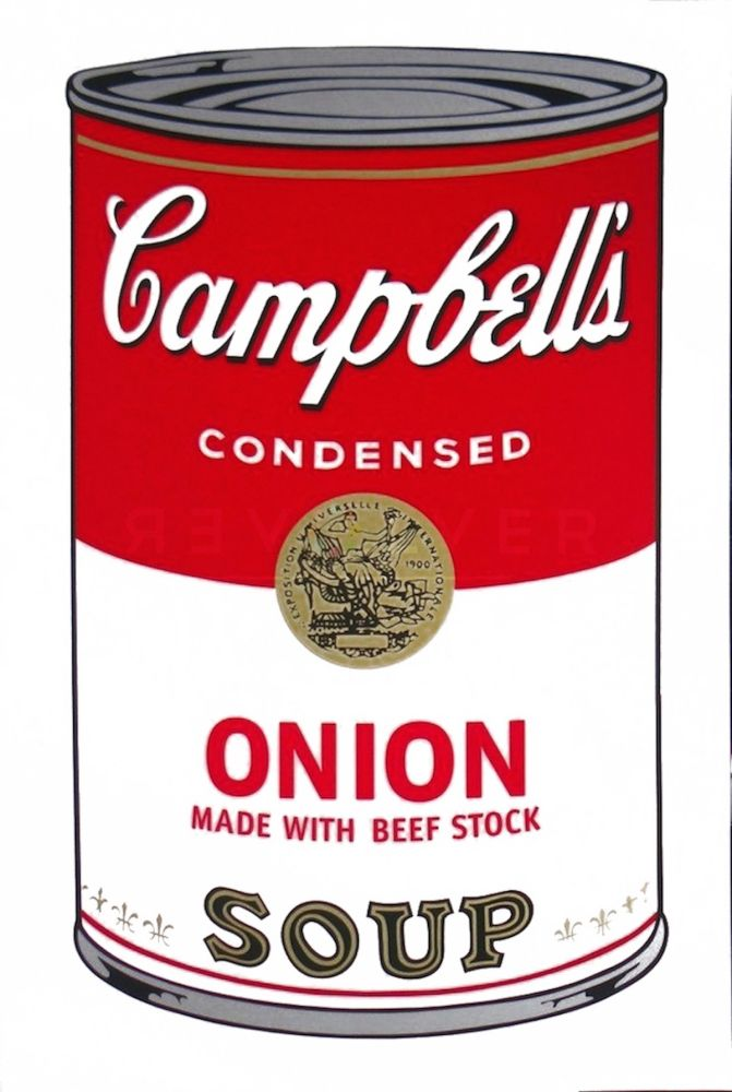Serigrafía Warhol - Campbell's Soup I: Onion (FS II.47)