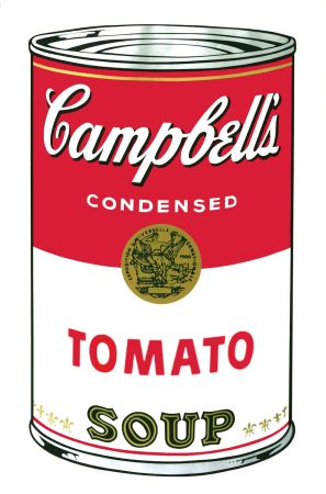 Serigrafía Warhol - Campbell's Soup I: Tomato (FS II.46)