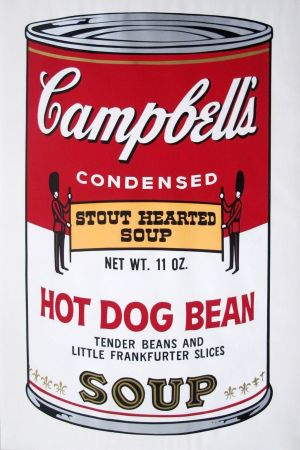 Sin Técnico Warhol - Campbell's Soup II: Hot Dog Bean (FS II.59)