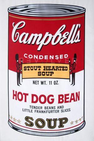 Serigrafía Warhol - Campbell's Soup II: Hot Dog Bean (FS II.59)