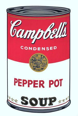 Serigrafía Warhol - Campbell's Soup: Pepper Pot (FS II.51)