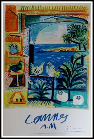 Litografía Picasso - CANNES A.M