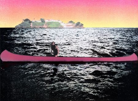 Serigrafía Doig - Canoe-Island