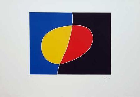 Grabado Miró - Cantic del Sol