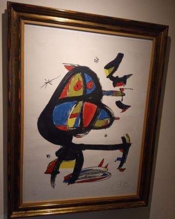 Litografía Miró - Cap i Cua
