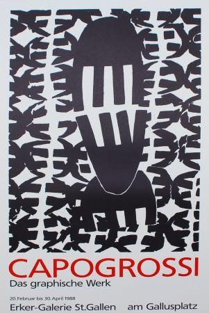 Litografía Capogrossi - CAPOGROSSI - Das graphische Werk