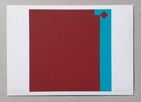Serigrafía Graeser - Caput Mortuum - Violett Grun 7:1