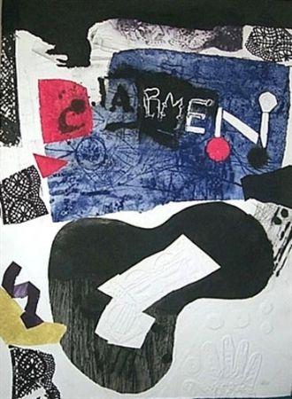 Talla En Madera Clavé - Carmen - Met Set I