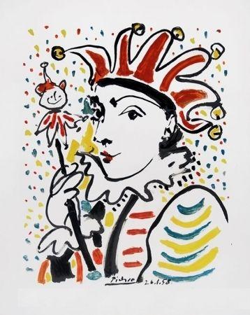 Litografía Picasso - CARNAVAL