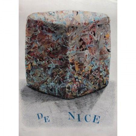 Litografía Cesar - Carnaval de Nice